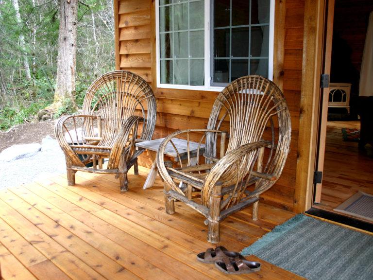 Dream Weaver front porch