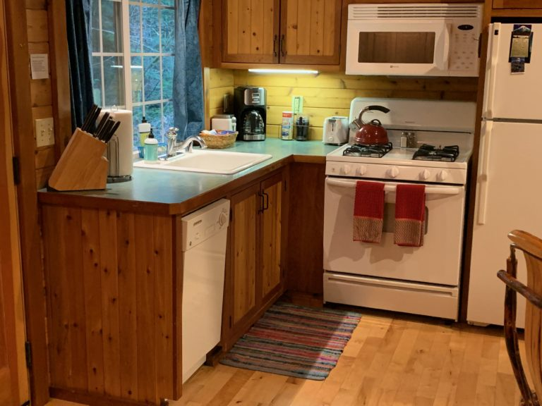 Dream Weaver Cabin Kitchen