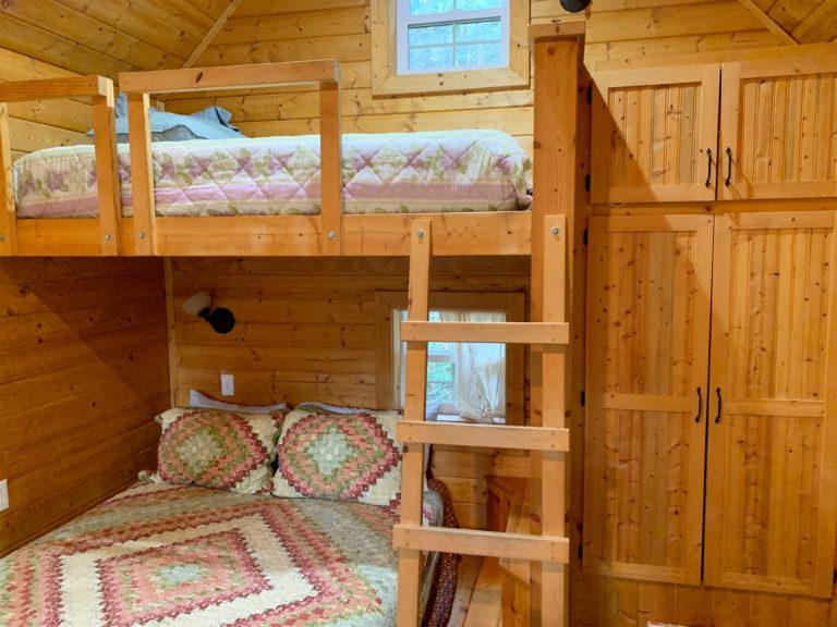 Sky Cabin bunks