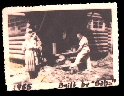 Copper Creek Log Cabin at Mount Rainier 1950s builder
