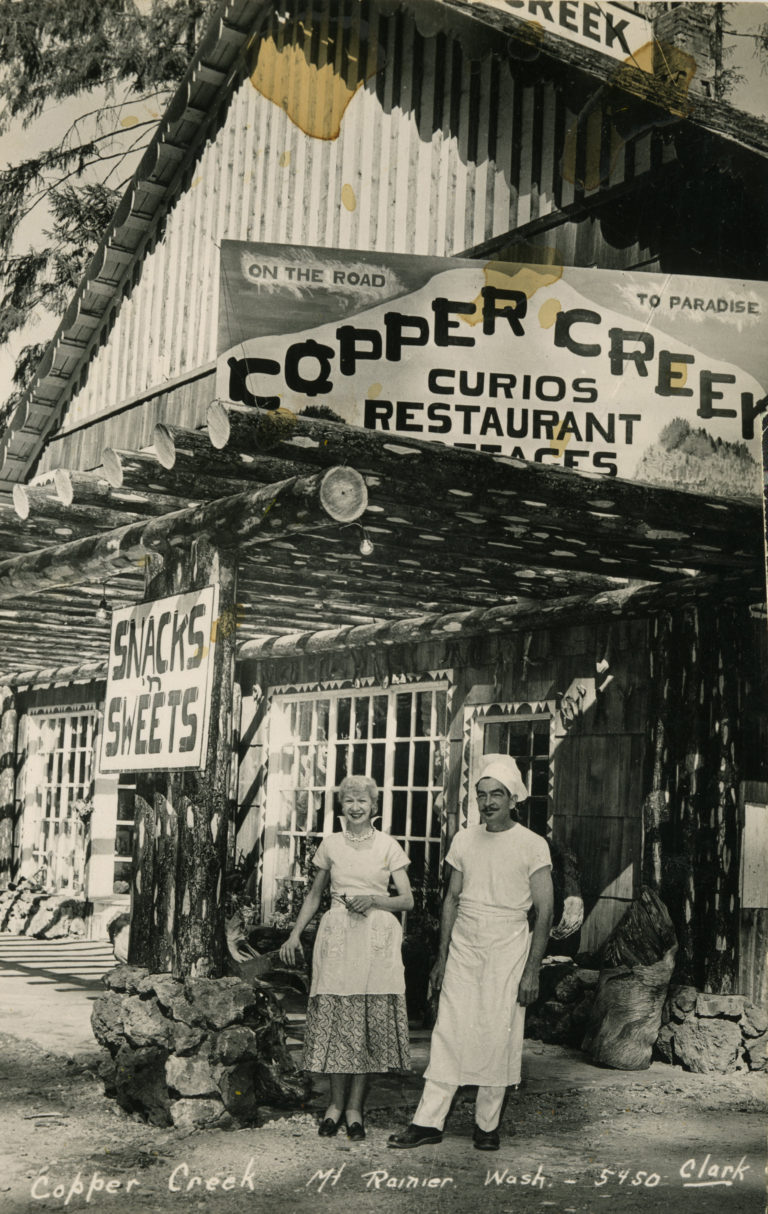 Copper Creek Restaurant in the late 40s